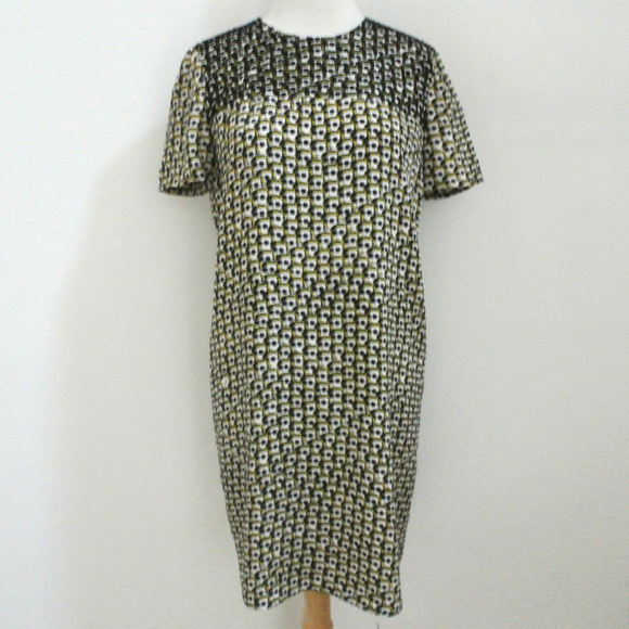 Issa London Dresses & Skirts - ISSA LONDON beaded sunglass print shift dress